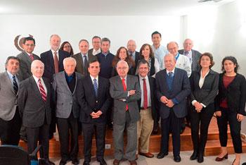 Gran concurrencia tuvo reunión ampliada de Directorio, en conmemoración de los 149 años de la Sociedad Médica de Santiago