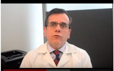 Dr. Gilberto González se refiere a la Osteoporosis