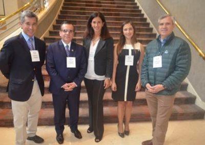 Drs. Marcelo Llancaqueo, Gilberto González, María Salomé Pilheu, Javiera Donoso y  Munir Hazbún.