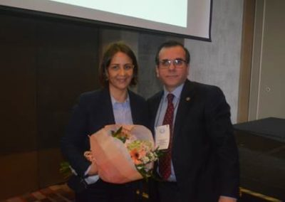 Angélica Infante y Dr. Gilberto González.
