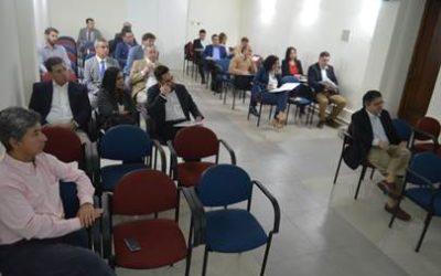 Directiva de la SMS se reúne para dar a conocer detalles con potenciales auspiciadores del XL Congreso Chileno de Medicina Interna