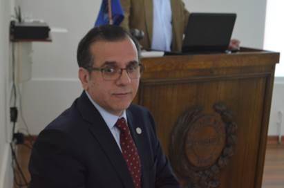 Dr. Gilberto González, Presidente de la SMS.