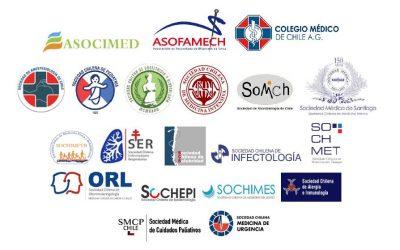 Recomendaciones sobre el Manejo del COVID19 en Chile Coordinación Sociedades Científicas y Colegio Médico de Chile